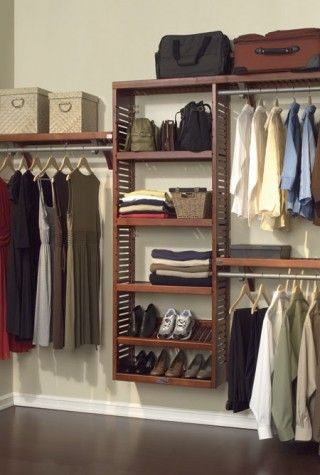 found it at wayfair john louis inc premier deep closet organizer set in mahogany