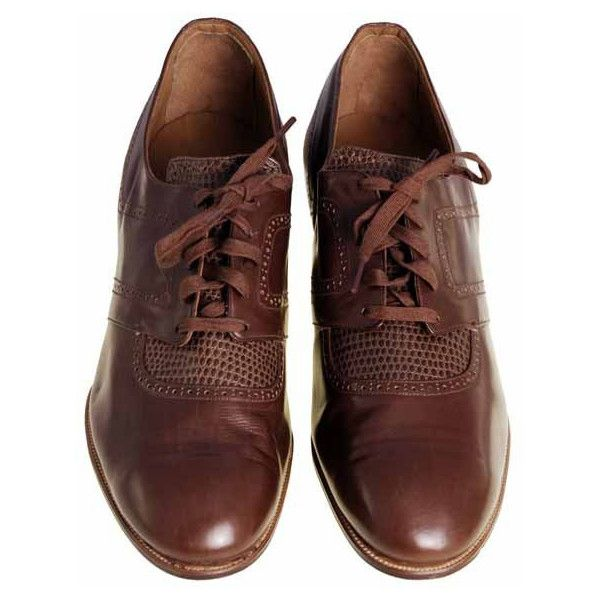 1920s Brown Leather Oxfords Mens Shoes ❤ liked on Polyvore featuring men's fashion, men's shoes, men's dress shoes, shoes, mens brown oxford dress shoes, mens dress shoes, mens leather shoes, mens oxford dress shoes and mens shoes