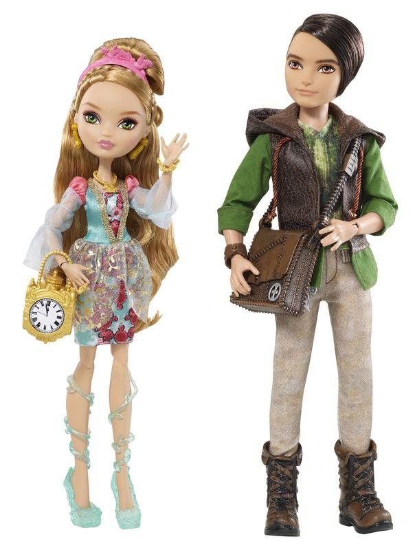 EVER AFTER HIGH™ ASHLYNN ELLA™ and HUNTER HUNTSMAN™ Dolls -  Daughter of Cinderella and Son of the Huntsman