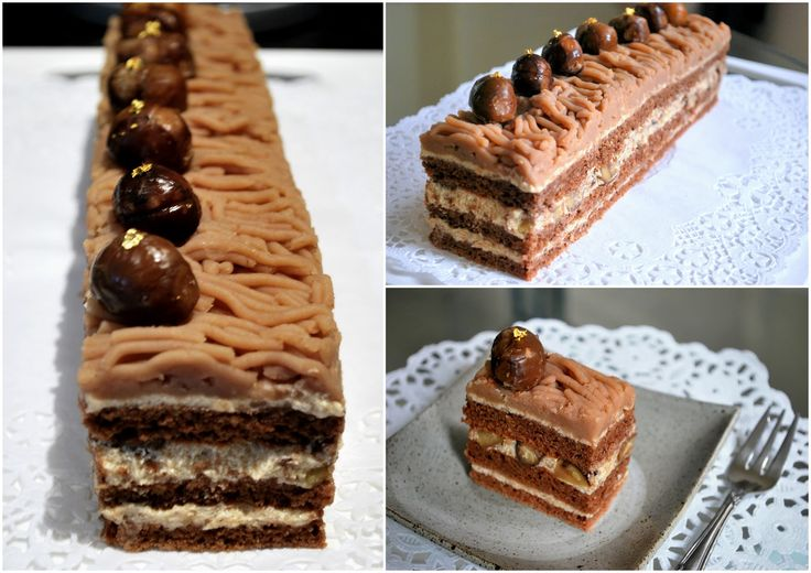86 best mousse images on pinterest patisserie for Mont blanc recipe