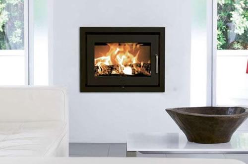 po le encastrable au bois foyer universel po le a bois. Black Bedroom Furniture Sets. Home Design Ideas