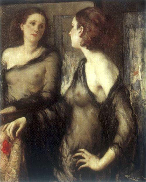 Fernand Toussaint - Le Miroir (1918)