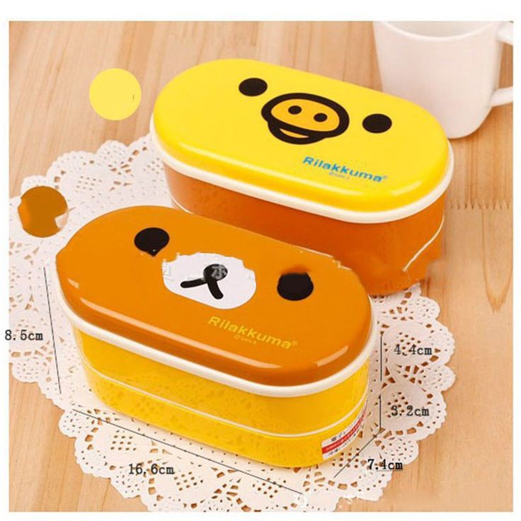 Double Layers Ellipse Shaped Thermal Lunch Box Picnic Bento Storage Container in Home & Garden, Kitchen, Dining, Bar, Plastic Containers   eBay!