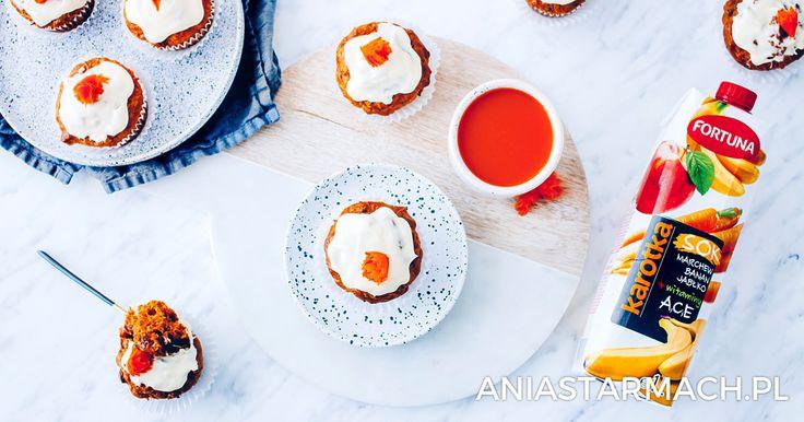 Marchewkowe muffiny | Ania Starmach