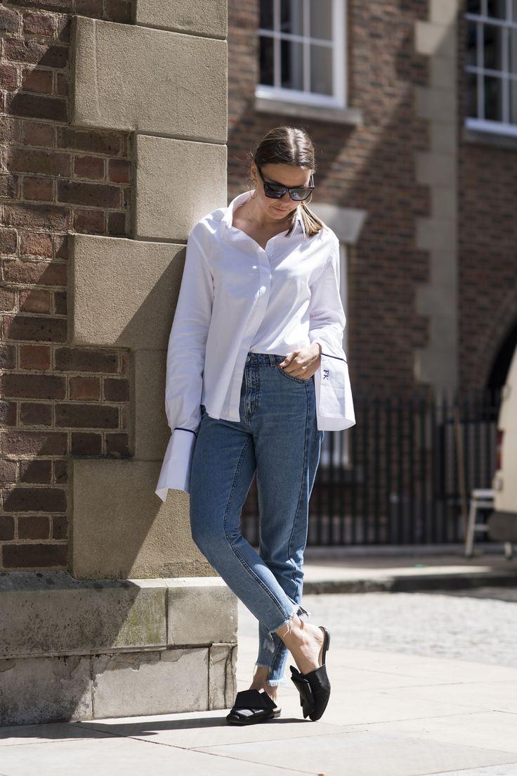 Felicity Kay, Fashion Assistant: Anna Quan shirt, Monki jeans, H&M Studio shoes, Givenchy by Riccardo Tisci sunglasses