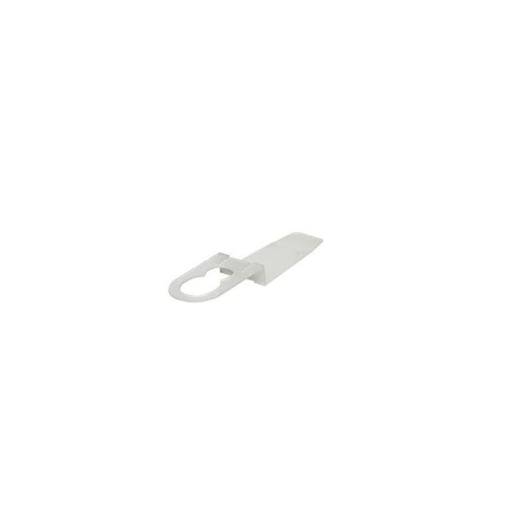 25ct Clear Dual-Direction Shingle Tab Christmas Light Clips (Plastic)