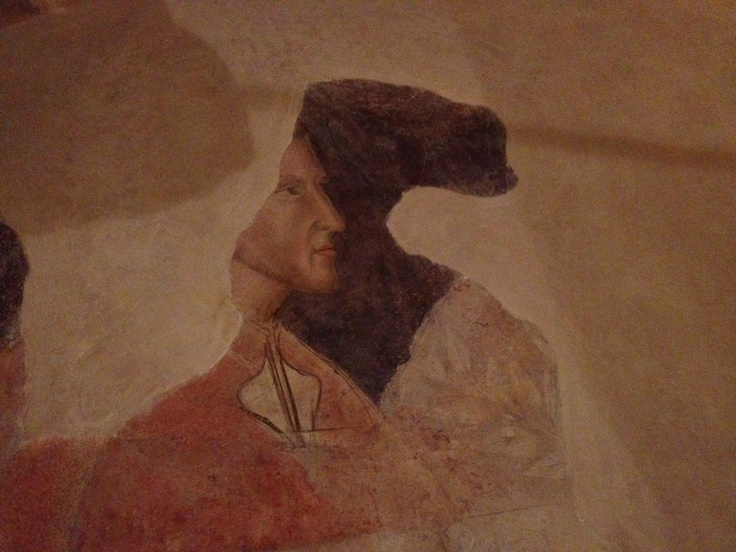 The oldest known image of Dante. Alle Murate.