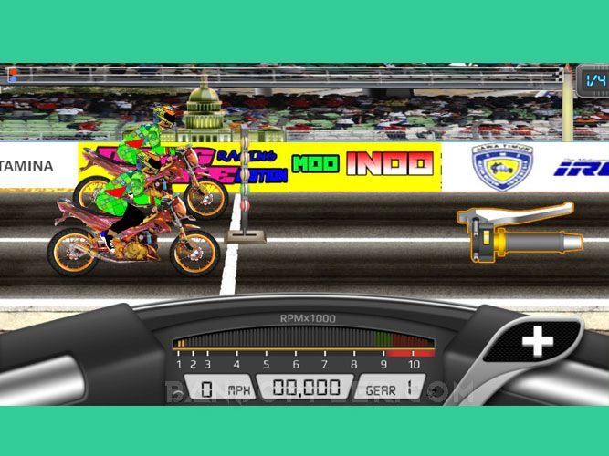 Drag Bike 201m Indonesia Mod Apk V 2 0 Game 2019 Free Download For
