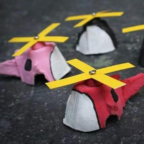 Egg carton airplane for leo craft ideas pinterest Egg tray craft ideas