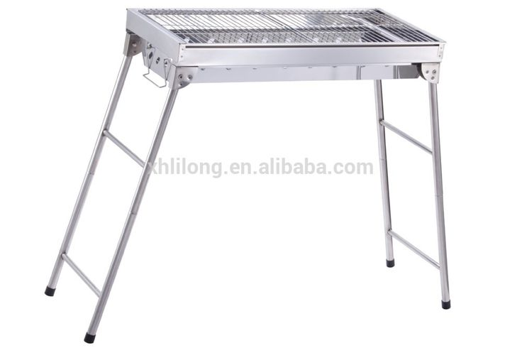 China factory charcoal stainless steel gas bbq grill