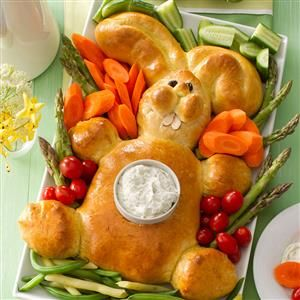 14 Easter Bunny-Shaped Recipes - Hop to making these bunny-shaped breads, cupcakes, rolls and more recipes that are sure to be the center of attention on your Easter table.