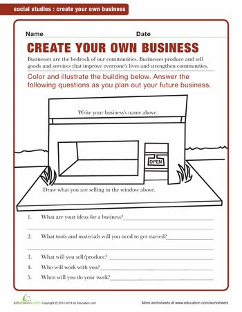 Printables Economics Worksheets For High School 1000 ideas about economics for kids on pinterest printable worksheets starting a business kids