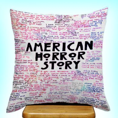 American Horror Story Quotes Custom Design Print On Zipper Pillow