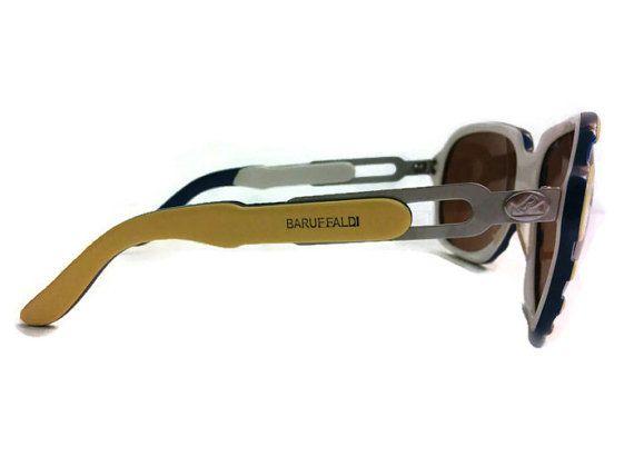 Rare Vintage BARUFFALDI Oversized Sunglasses by vintagevennu