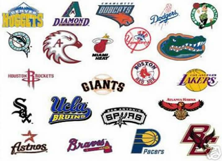 All of these Logotypes have the team name or the mascot ...