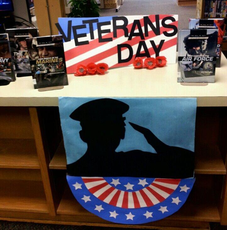 Homemade Centerpiece Veterans