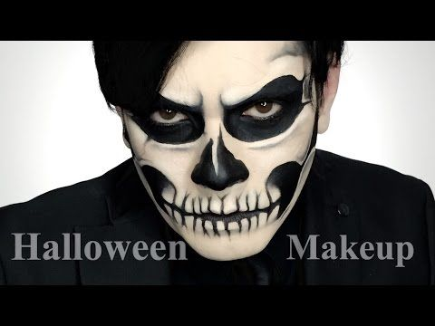 Maquillaje para Halloween | Calavera | Lady Gaga |Skull | Zombi Boy - YouTube