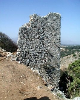 A tower at Monopari, #Crete, #fortification, #archaeology