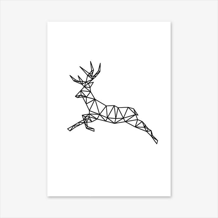 Geometric Animal Print, Nursery Decor, Nursery Prints, Baby Shower Gift, Nursery Art, Nursery Wall art, Animal Prints, Deer Print, Deer Art #homedecorideas #homedecoronabudget #homedecordiy #homedecorideasmodern #homeoffice #homedecor #homeideas #wallart #walldecor #wallartdiy #art #print #digital #geometricanimal #geometricprint #nurserydecor #nurseryprints #nurseryart #nurserywallart