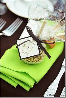 Candied apple favors
