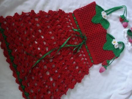 Vestido  Vestido tejido a crochet!: Dresses Fabric