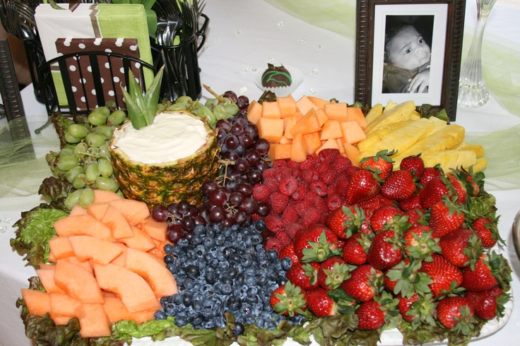 Fruit Tray...like the pineapple used for dip