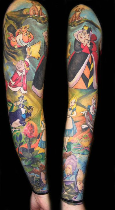 if i had sleeve tattoos... they would probably look very similar to this.