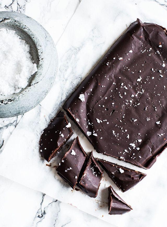 Chokolade med havsalt