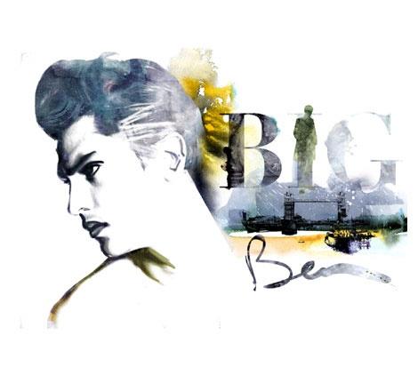 Big Ben - Top Magazine UK - Illustration by ©Luis Tinoco - WWW.LUISTINOCO.COM