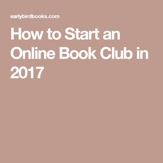 How to Start an Online Book Club in 2017