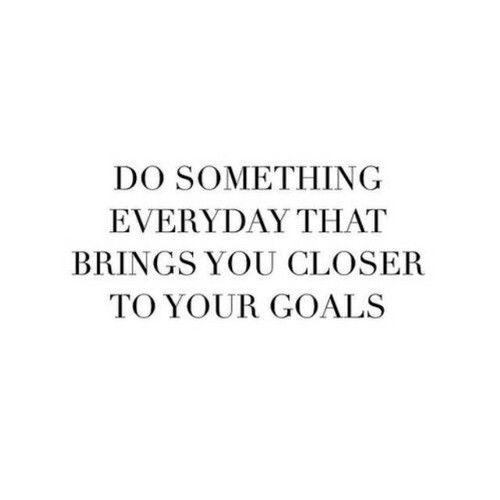 set some goals, then demolish them #fitspo