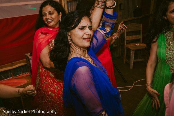 Indian wedding reception guest dancing http://www.maharaniweddings.com/gallery/photo/120265
