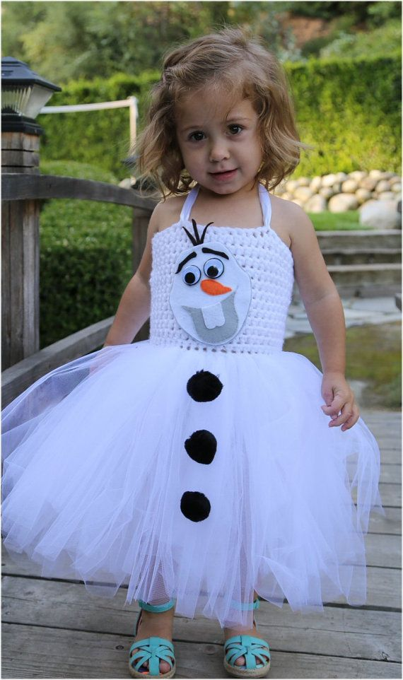 Frozen inspired Olaf dress  Olaf tutu by ByJesssStuffwithlove, $50.00