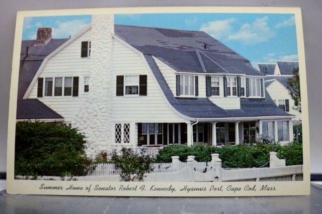 Massachusetts MA Cape Cod Hyannis Port Robert F Kennedy Home Postcard Old View | eBay