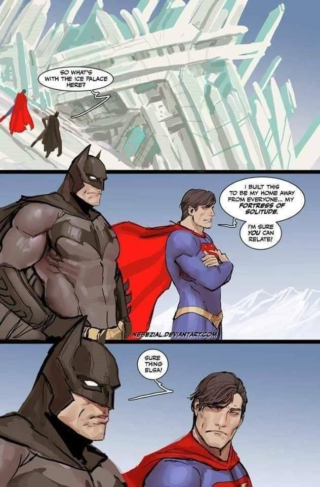 The origin story for Batman v Superman...