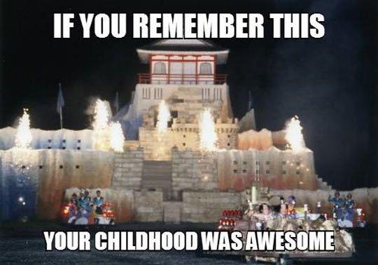 Takeshi's castle…