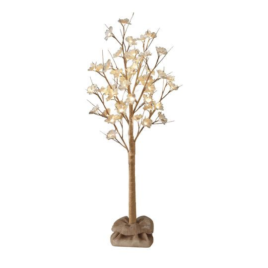 Apothecary & Company™ Magnolia Blossoms LED Tree with Burlap Base, 4 ft. at Michaels.com. Brighten up any space by placing this Apothecary & Company™ LED Tree as a decorative accent on corner tables, mantels, living rooms, entryways, and more.