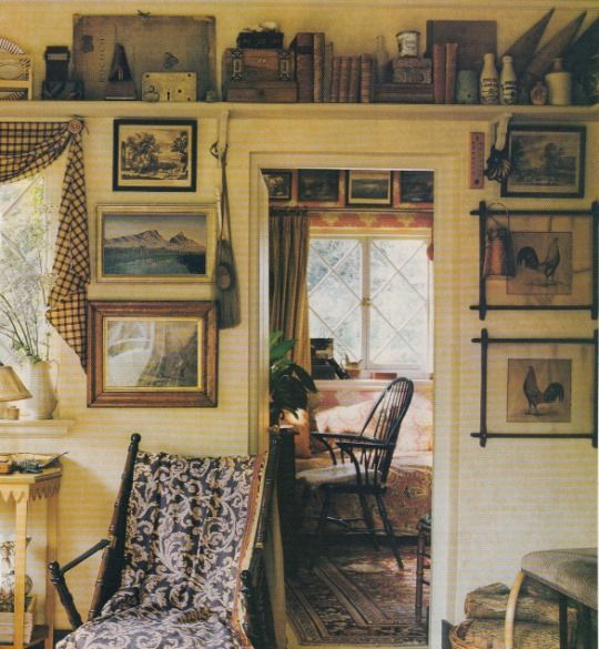 English cottage of anthony little of osborne little style english country pinterest - English cottage kitchen designs ...