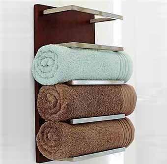идеи для хранения полотенец в ванной комнате