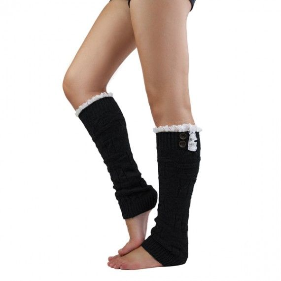 these leg warmers would be cute under boots