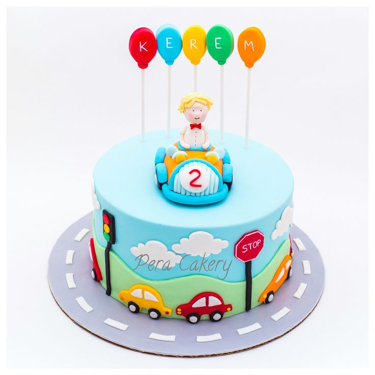 Car cake for a 2 year old boy
