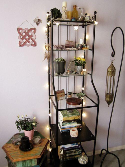 witchmoon my new altar shelf  Altars and Shrines
