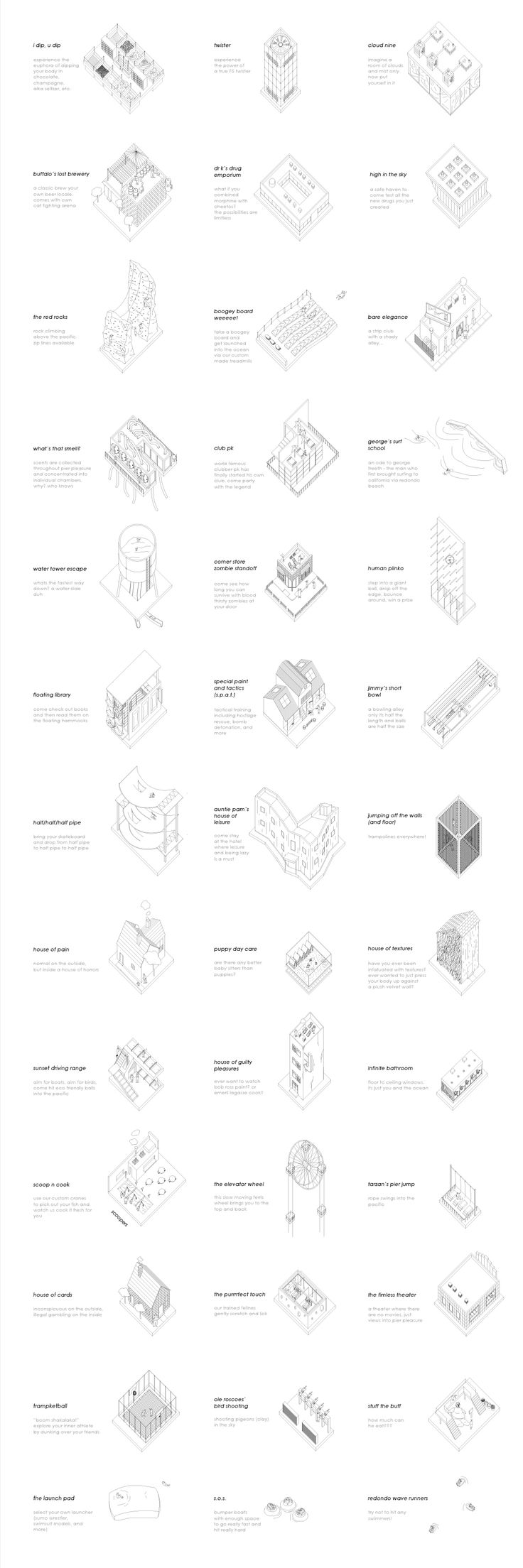 Sunny Lam. M.arch Thesis // Pier Pleasure   SUPER // ARCHITECTS