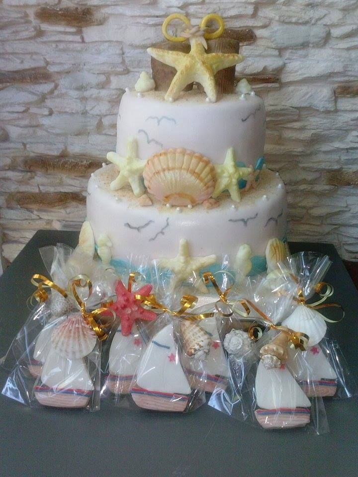 Weddind sea cake