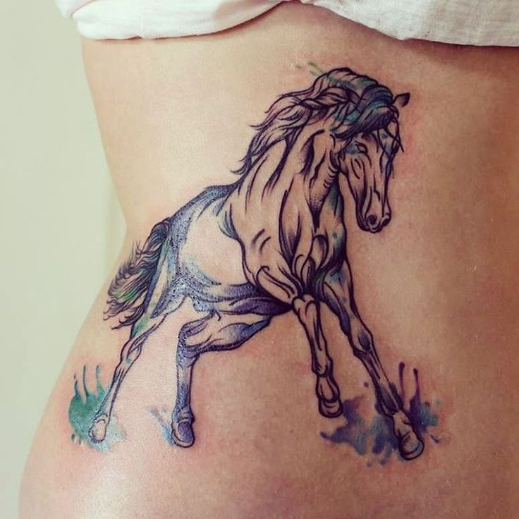 beautiful horse tattoo by eva mad inkspiration pinterest beautiful horse tattoos and. Black Bedroom Furniture Sets. Home Design Ideas