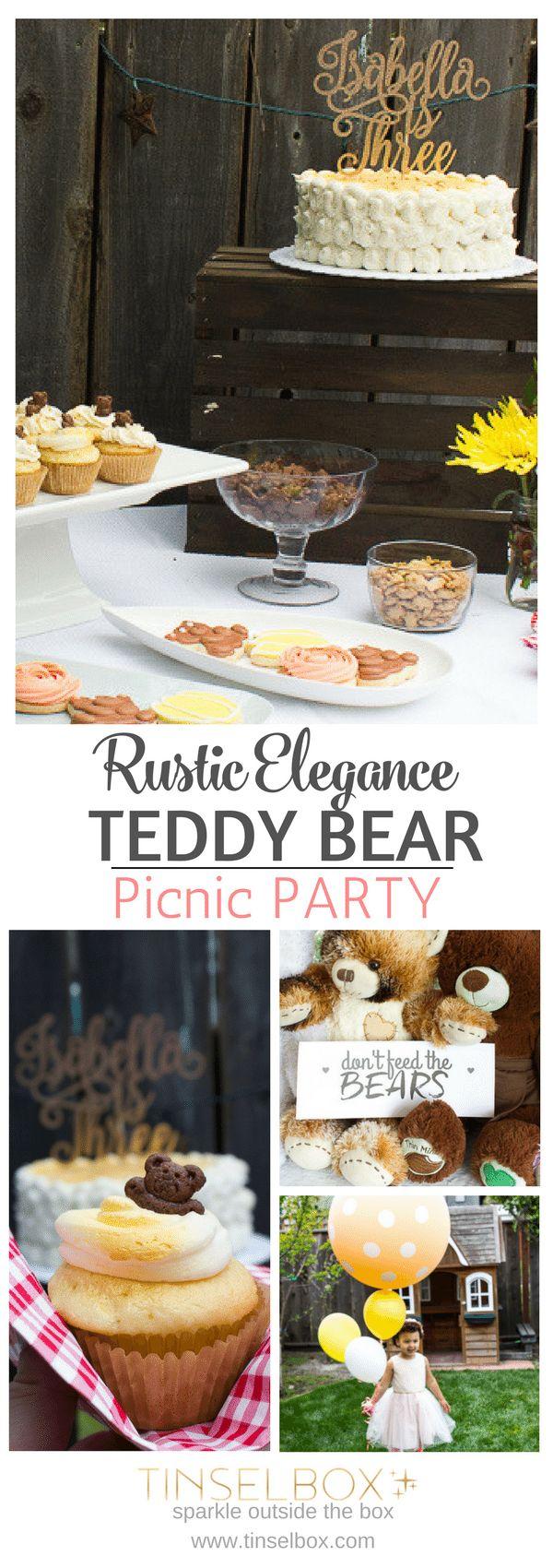 Cuddly Teddy Bear Party Ideas | Isabella's Teddy Bear Picnic Birthday