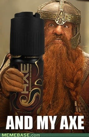 Gimli prefers Dark Temptations.: Axis, Lotr, Funny Things, Funny Stuff, Humor, Middle Earth, Hobbit, Lord Of The Rings