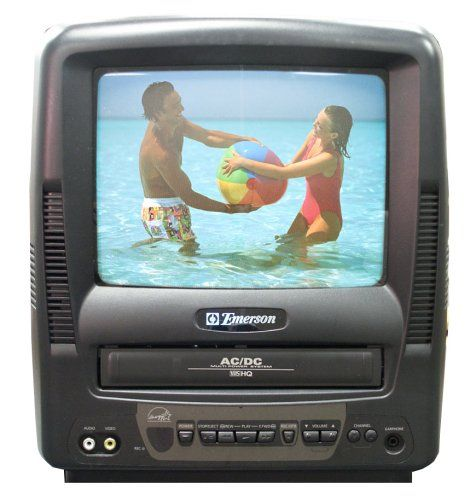 Emerson EWC0902 9-Inch Portable TV/VCR Combo  for more details visit :http://tv.megaluxmart.com/
