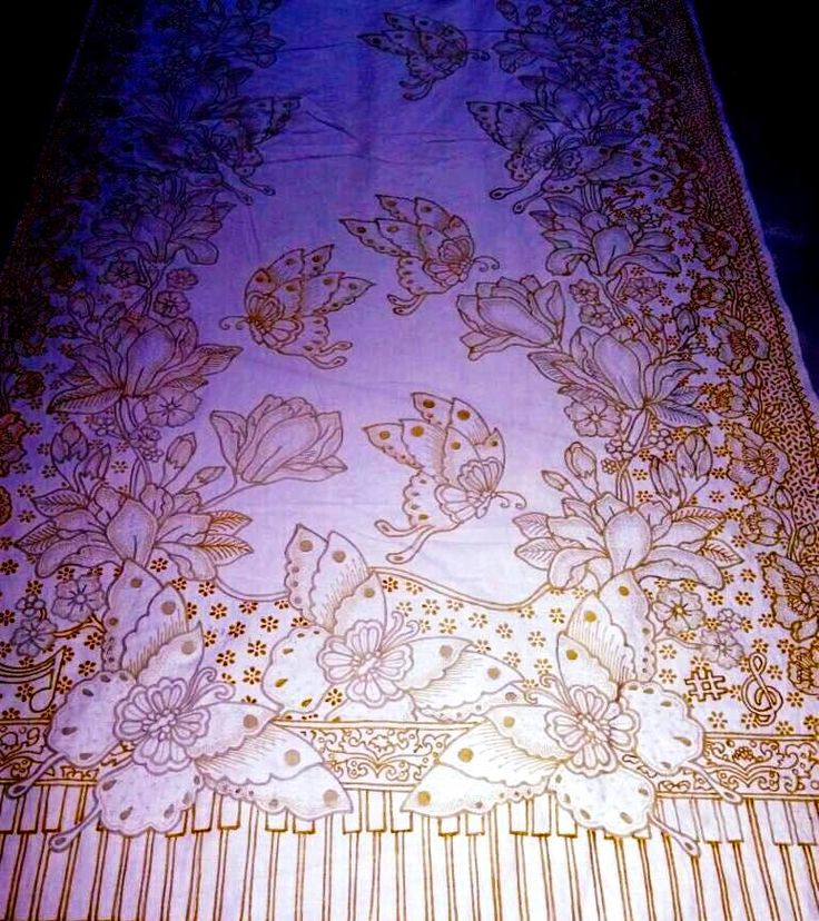 first of batik design