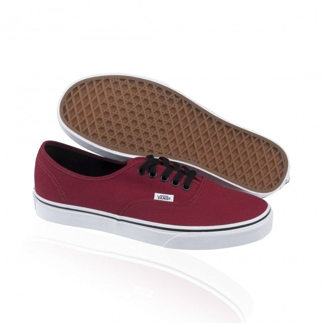VANS Chaussures - AUTHENTIC CA - over washed chili pepper, Größe:40